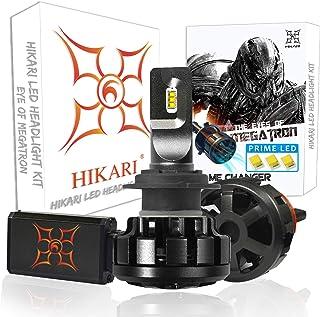 HIKARI Ultra LED Headlight Bulbs Conversion Kit -H7, Prime LED 12000lm 6K Cool White