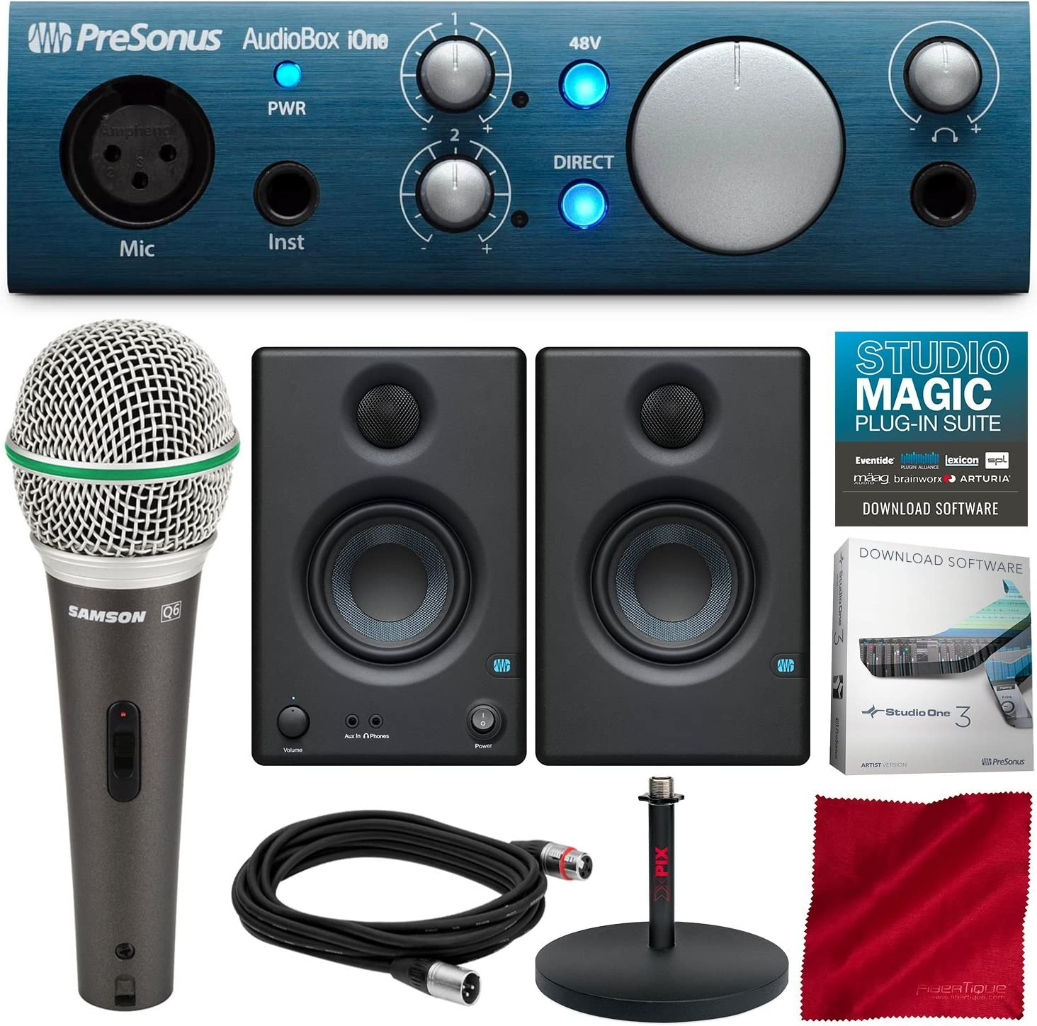 PreSonus AudioBox iOne 2x2 USB System It is very popular Sales results No. 1 Er Recording with