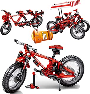 Symbol inFUNity Technic Mountain Bike Building Blocks (306 PCS) Bricks Compatible with Lego Technic