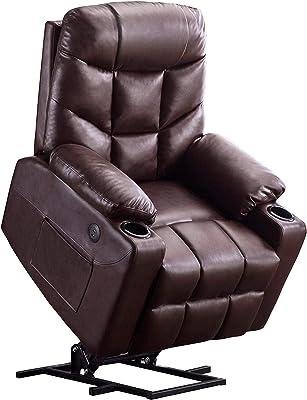 Swell Amazon Com Bonzy Power Lift Recliner Chair Soft And Warm Short Links Chair Design For Home Short Linksinfo