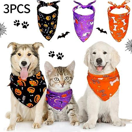 Autumn dog bandana pumpkin dog bandana Fall dog bandana Reversible Thanksgiving Dog bandana