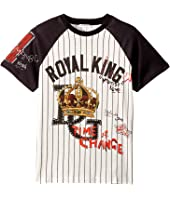 Dolce & Gabbana Kids - Royal King Baseball T-Shirt (Big Kids)