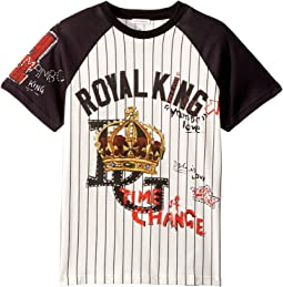Royal King Baseball T-Shirt (Big Kids)