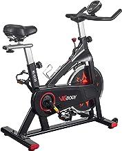 VIGBODY Exercise Bike Indoor Cycling Bike Adjustable Stationary Bicycle for Home Gym Workout Cardio Bikes Upright Bike