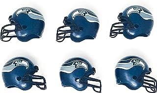 NFL 6 Pack Seattle Seahawks 2017 Helmet Mini Football 2
