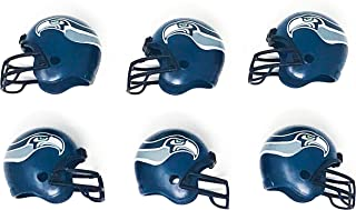 NFL 6 Pack Seattle Seahawks 2017 Helmet Mini Football 2