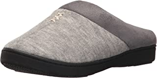 ISOTONER Women's Marisol Slip On Cushioned Slipper with All Around Memory Foam for Indoor/Outdoor Comfort
