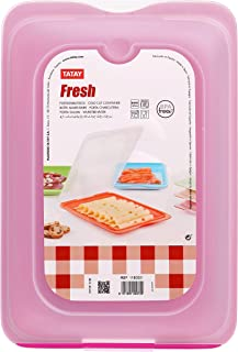 TATAY 1180003 - Bandeja Porta Embutidos con Sistema Fresh, Color Rosa