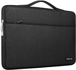 MOSISO 360 Protective Laptop Sleeve Compatible with 13-13.3 inch MacBook Pro, MacBook Air, Notebook Computer, Polyester Ba...