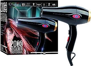 ID Italian Design - Secador de Pelo Profesional 2000W, Negro