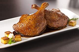 Echelon Foods All Natural Duck Leg Confit Fully Cooked - Easy to Prepare 6 x 2 packs (12 legs x 8 oz/leg)