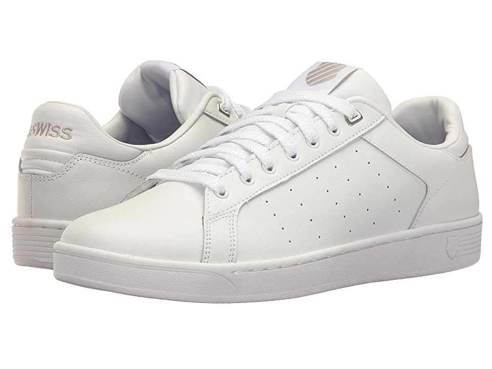 K-Swiss Clean Court CMF (White/Gull Gray) Men