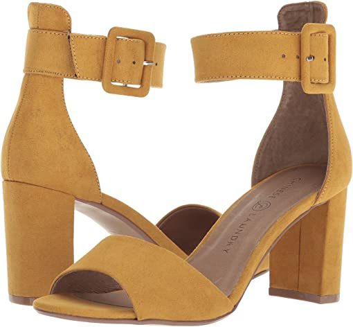 Yellow Microsuede