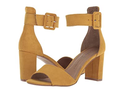 Chinese Laundry Rumor (Yellow Microsuede) High Heels