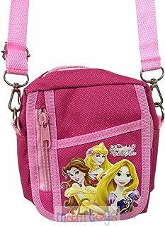 Disney Princesses Dark Pink Camera Bag Purse Case Handbag Mini Shoulder Bag