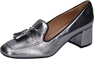 CARMENS Moccasins Womens Leather Silver