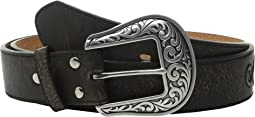 M&F Western - Scroll with Round Concho Belt