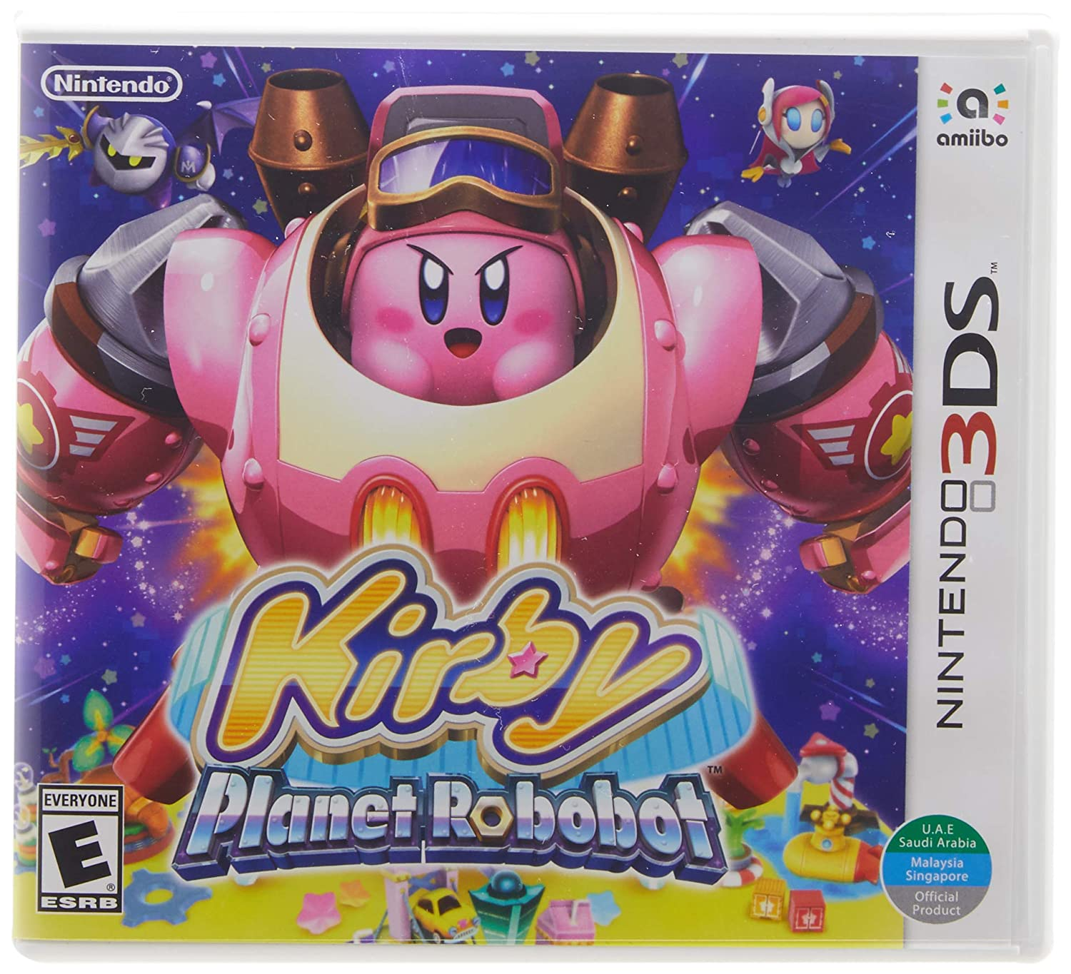 Kirby: Manufacturer regenerated product Planet Robobot - 3DS Standard Year-end gift Edition Nintendo