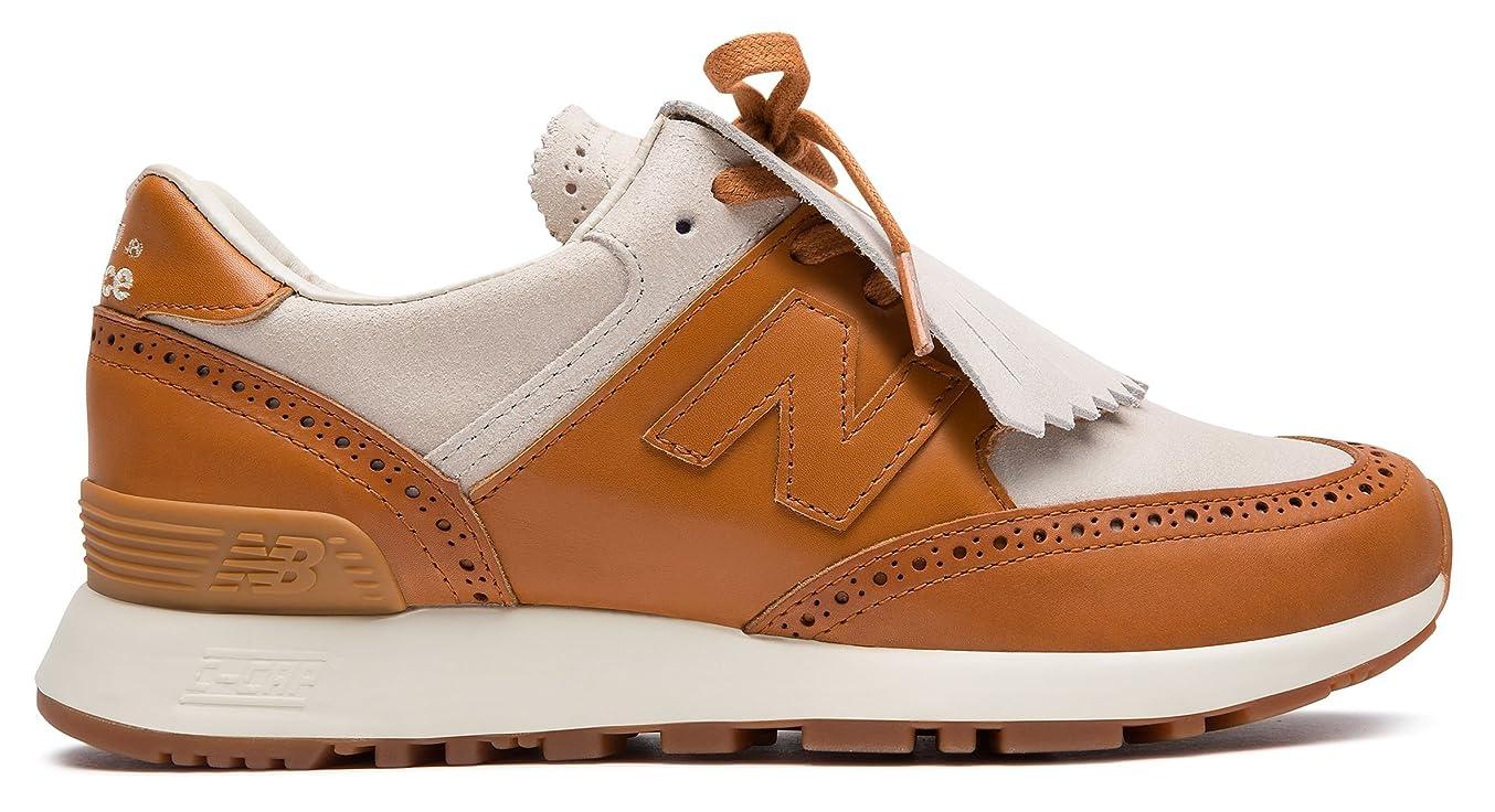 キャンバスミキサーホイットニー(ニューバランス) New Balance 靴?シューズ レディースライフスタイル Grenson x New Balance 576 Off White with Camel オフ ホワイト US 8.5 (25.5cm)