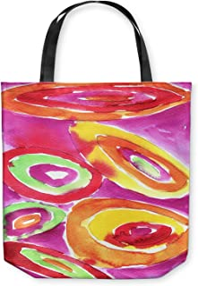 DiaNoche Designs Tote Shoulder Bags by Marley Ungaro - Artsy Tutti Frutti
