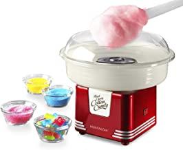 Nostalgia PCM45RR Retro Hard and Sugar Free Countertop Original Cotton Candy Maker,..