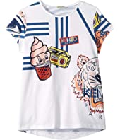 Kenzo Kids - Ice Cream Tee (Big Kids)