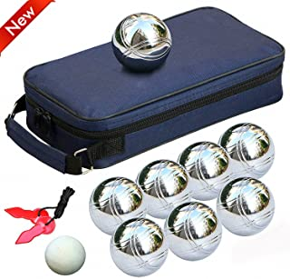 KiMood KI0513-Bolsa con 6 bolas DE petanca