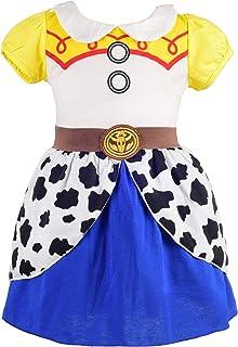 Dressy Daisy Princess Alice Dress Snow White Dress Cowgirl Jessie Dress Up Costume for Toddler