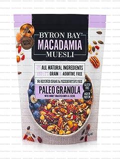 Byron Bay Macadamia Muesli Paleo Granola Muesli, 400 g