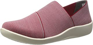Clarks Women's Leather Fashion Espadrille Flats