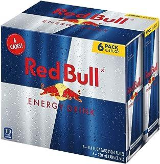 Red Bull Red Bull Energy Drink, 6 Pack of 8.4 Fl Oz