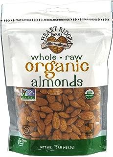 Organic Raw Almonds 1 lb (Pack of 1)