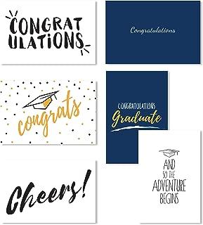 Graduation Cards 2019, Graduation Congratulations Cards Bulk, Graduation Cards Box Set, Congratulations Cards Bulk Assortment - 36 Pack, Envelopes Included, 4x6 Inches