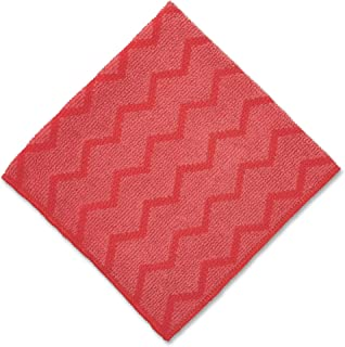 Rubbermaid Commercial FGQ62000RD00 HYGEN Microfiber General Purpose Cloth, Red