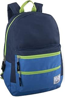 Multi-Color Back Pack with Adjustable Padded Shoulder Straps