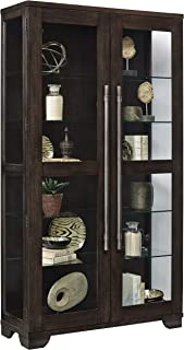Pulaski Collection Zadie Two Door Curio Display Cabinet, 44