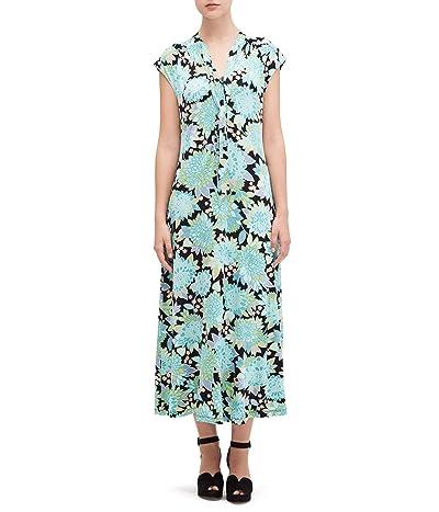 Kate Spade New York Dahlia Bloom Knit Dress (Black) Women