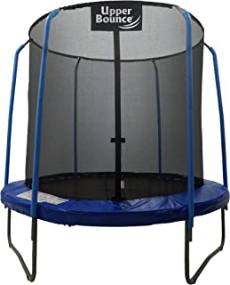 SKYTRIC Trampoline with Top Ring Enclosure System Equipped with The Easy Assemble Feature