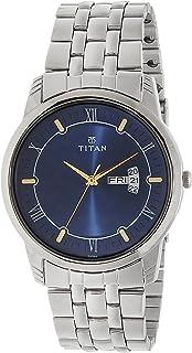 Titan Karishma Analog Blue Dial Men's Watch - 1774SM01