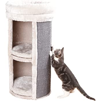 TRIXIE Cat Tree, Cat Tower, Cat Playground, Modern Style Cat Furniture