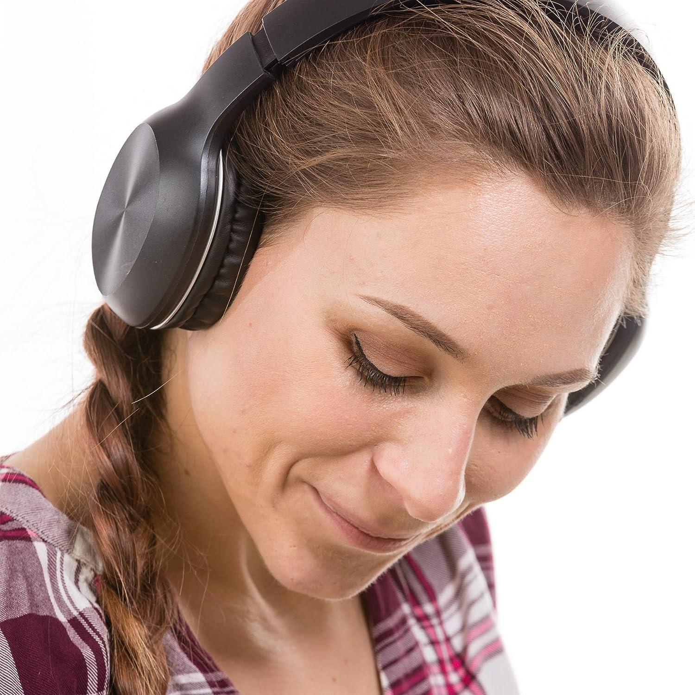 Decibel B68 Bluetooth Over-Ear Headphones Club Studio Portable Headphones Headset - Music, Pod Casts, Hands Free Calling, 10 hr