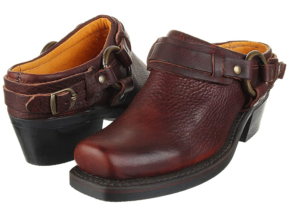 Frye Belted Harness Mule (Chestnut Leather) Women