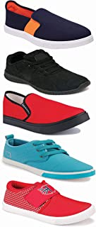 WORLD WEAR FOOTWEAR Sports Running Shoes/Casual/Sneakers/Loafers Shoes for Men Multicolor (Combo-(5)-1219-1221-1140-383-1024)