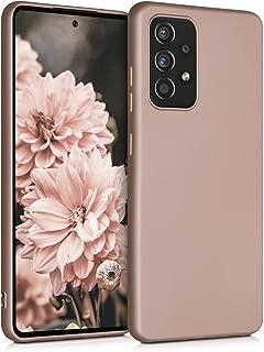kwmobile telefoonhoesje compatibel met Samsung Galaxy A52 / A52 5G / A52s 5G - Hoesje voor smartphone - Back cover in meta...