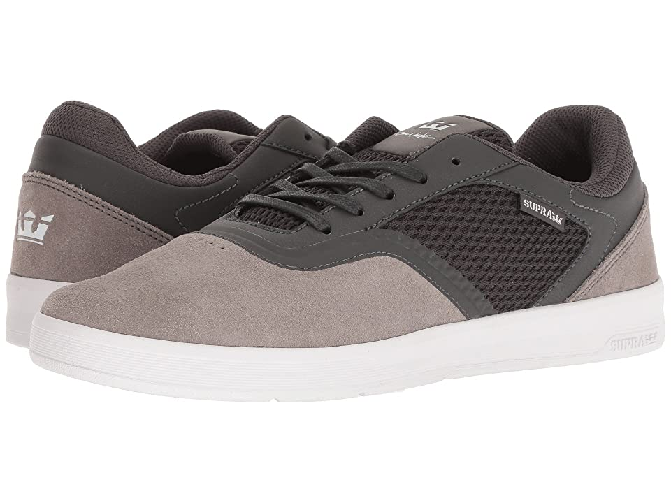 Supra Saint (Dark Grey/Grey/White) Men
