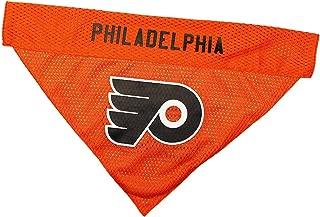 NHL Philadelphia Flyers Bandana for Dogs & Cats, Large/X-Large. - Cute & Stylish Bandana! The Perfect Hockey Fan Scarf Bandana, Great for Birthdays Or Any Party!