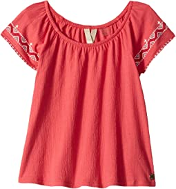 Roxy Kids - Loving Arms Boho Top (Toddler/Little Kids/Big Kids)