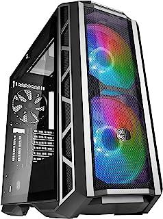 Gabinete Cooler Master MasterCase H500P Mesh ARGB, E-ATX, Lateral em Vidro Temperado, Painel Frontal em Tela, Duas Ventoin...