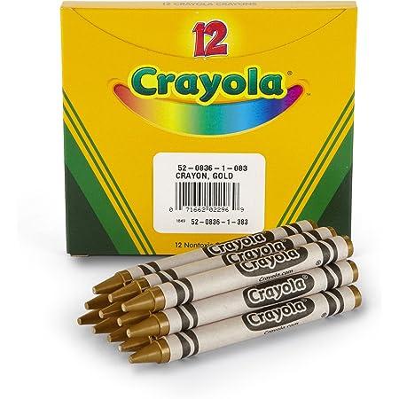 Bold Color Crayola; Large Crayons Bulk Crayons; Bright Orange; Art Tools; 12 ct