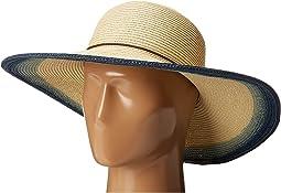 UBL6484 Natural Sun Brim Hat